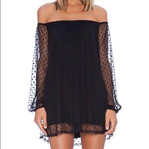 For love and lemons 🍋 Black Precioso Dress